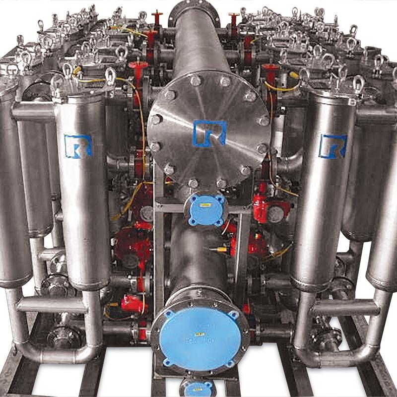 Backwashing Automatic System Rosedale Products Inc