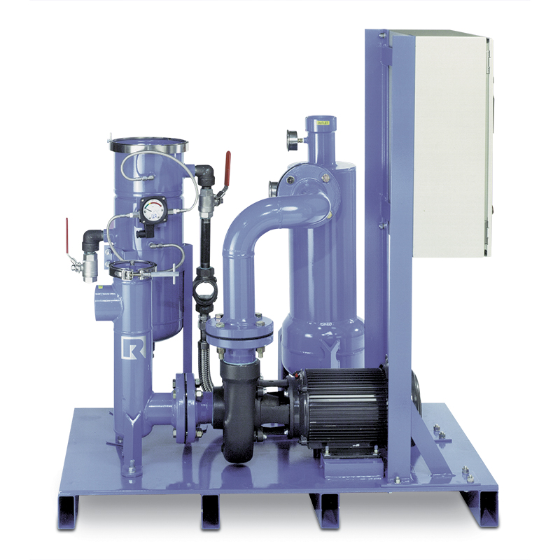Solids Recovery Filtration System